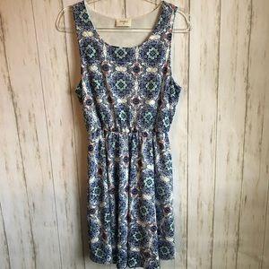 EVERLY Sleeveless Tank Midi Dress